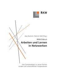 Arbeiten und Lernen in Netzwerken - RKW