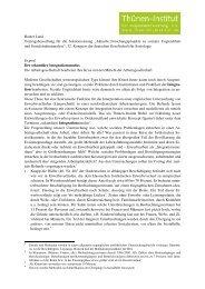 Der sekundäre Integrationsmodus - Rainer Land Online Texte