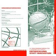 entwicklung statt wachstum - Rainer Land Online Texte
