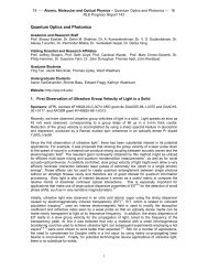 Quantum Optics and Photonics - Research Laboratory of Electronics ...