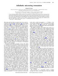 Adiabatic microring resonators - Optics InfoBase