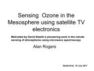 Alan Rogers, MIT Haystack Observatory - Research Laboratory of ...