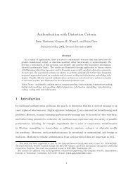 Authentication with Distortion Criteria - CiteSeerX
