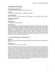Computational Prototyping - Research Laboratory of Electronics - MIT