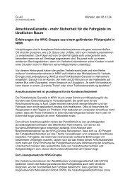 AnschlussGarantie - mehr Sicherheit für die Fahrgäste im ... - RVM