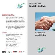 MobilitätsPate (Info-Prospekt, PDF) - Regionalverkehr Ruhr-Lippe ...