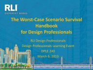 The Worst-Case Scenario Survival Handbook for Design Professionals