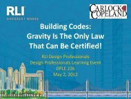 Building Codes: Gravity Is The Only Law That Can Be Certified!