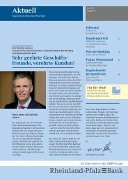 Download Newsletter 10, Juni 2013 - Rheinland Pfalz Bank