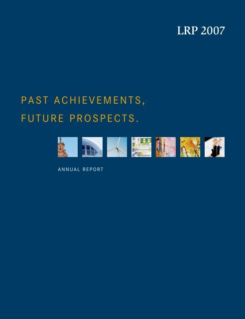 Annual Report LRP 2007 - Rheinland Pfalz Bank