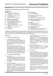 AGB - Rheinland Pfalz Bank