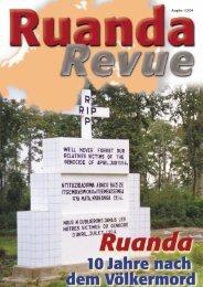 Ausgabe 1/2004 - Partnerschaft Ruanda
