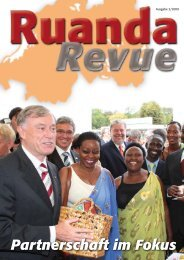 Ruanda Revue 02/2009 - Partnerschaft Ruanda