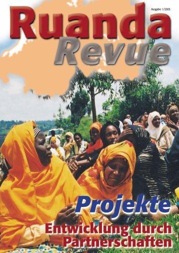 Ausgabe 1/2005 - Partnerschaft Ruanda
