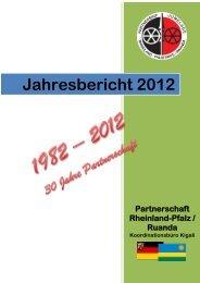 Jahresbericht 2011 - Partnerschaft Ruanda