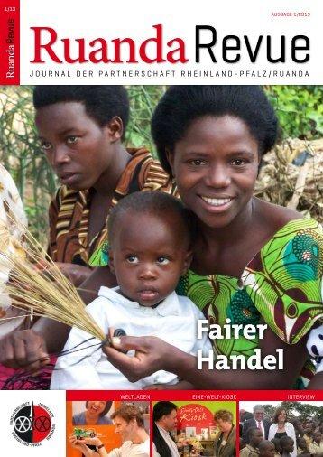 Fairer Handel - Partnerschaft Ruanda