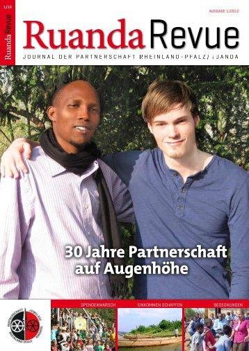 30 Jahre Partnerschaft auf Augenhöhe - Partnerschaft Ruanda