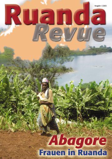 Ausgabe 1/2003 - Partnerschaft Ruanda