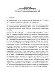 Begründung zum Vierzehnten Staatsvertrag zur Änderung ...