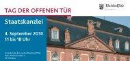 G DER OFFENEN TÜR - in Rheinland-Pfalz