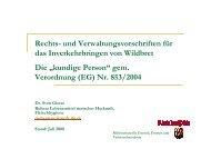 Vortrag zur kundigen Person Stand Juli 2008 - in Rheinland-Pfalz