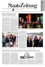 StaatsZeitung Nr. 15 - in Rheinland-Pfalz