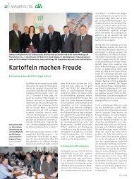Kartoffeln machen Freude - Rheinischer Landwirtschafts-Verband eV