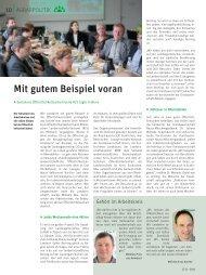 Mit gutem Beispiel voran - Rheinischer Landwirtschafts-Verband eV
