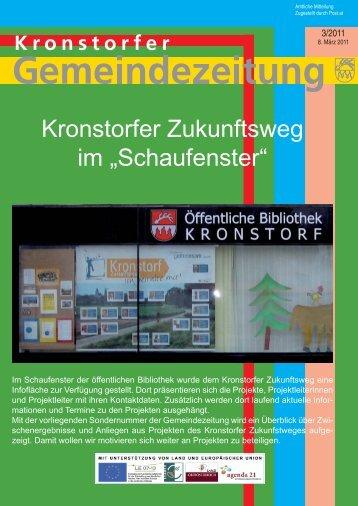 """Kronstorfer Zukunftsweg im """"Schaufenster"""" - RM Austria"""