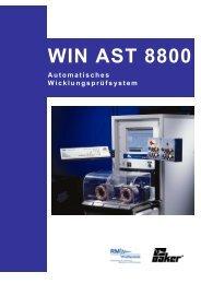 WIN AST 8800 - RM Prüftechnik