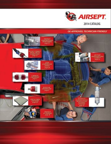 2014 AirSept Product Catalog
