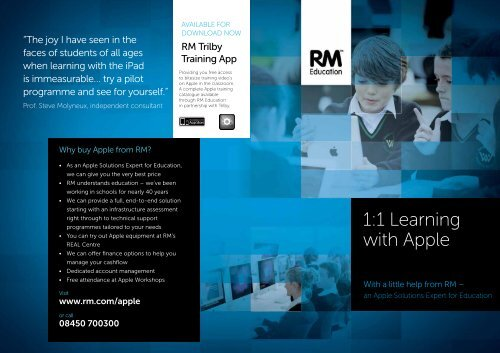 1:1 Learning with Apple - RM.com