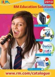 RM Education Solutions Catalogue 2010 - RM plc