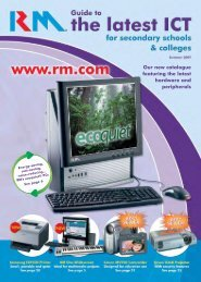 Our new catalogue featuring the latest hardware and ... - RM.com