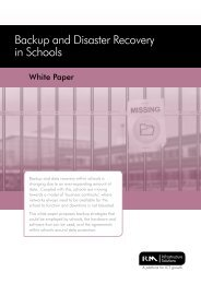 Backup and Disaster Recovery in Schools - RM.com
