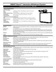 SMART Board™ Interactive Whiteboard System - RM.com