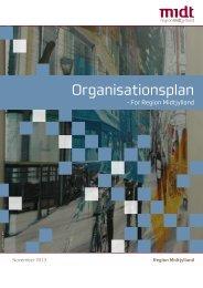 Organisationsplan - Region Midtjylland