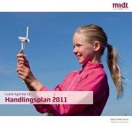 Opdateret Lokal Agenda 21 Handlingsplan 2011 - Region Midtjylland