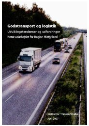 Godstransport og logistik - Region Midtjylland
