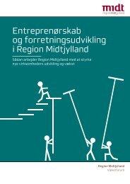 Entreprenørskab og forretningsudvikling i Region Midtjylland
