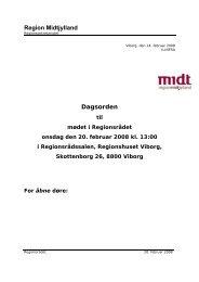 Region Midtjylland Dagsorden