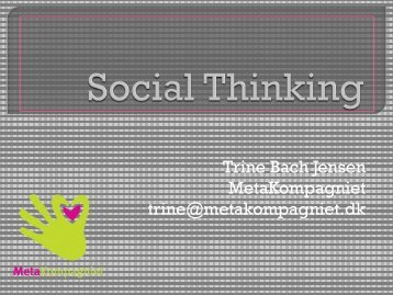 Social Thinking - Region Midtjylland