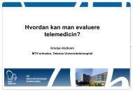 Kristian Kidholms præsentation