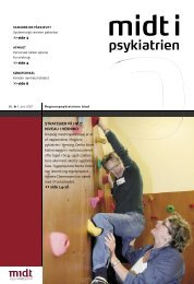 Midt i Psykiatrien - juni 2007 - Region Midtjylland