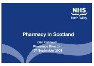 Pharmacy in Scotland