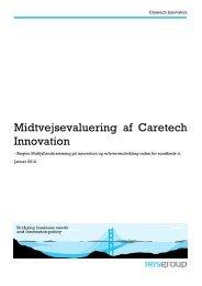 Midtvejsevaluering af Caretech Innovation - Region Midtjylland