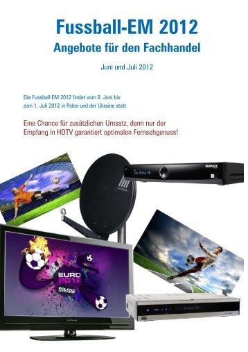 Fussball-EM 2012 Angebote für den Fachhandel - Belsat AG