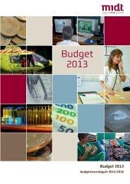 Budget 2013 - Region Midtjylland