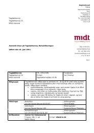 Tilsynsrapporten kan læses her - Region Midtjylland