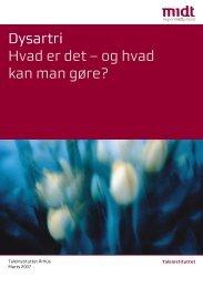 Dysartri Hvad er det – og hvad kan man gøre? - Region Midtjylland